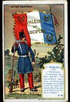 IMAGE CHROMO  / MILITAIRE & DRAPEAU / 2° REPUBLIQUE 1848 / 53° Régiment de LIGNE