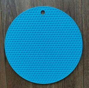 Heat Resistant Silicone Kitchen TRIVET MAT Pan Hot Pot Holder Non Slip