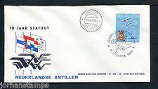 Ned. Antillen FDC E33_ 3M, blanco, Curacao ;