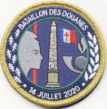 DOUANE / BATAILLON DES DOUANES - 14 JUILLET 2020