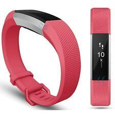 Fitbit Alta HR Gr L Ersatz Silikon Armband Uhren Sport Band Fitness Tracker