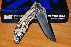 ZERO TOLERANCE RJ Martin CPM 20CV Stonewash Blade KERSHAW ZT 0609 USA