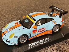 NSR 0121AW Porsche 997 Gulf Edition 1/32 Slot Car