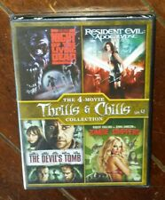Devil's Tomb/Night of Living Dead/Resident Evil: Apocalypse + (DVD, 2013)