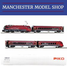 "Piko 58131 HO 1:87 4-piece set Reihe 1216 RailJet ÖBB VI ""DCC-SOCKET"" NEW BOXED"