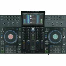DENON DJ PRIME 4 NUEVO CON MALETA DE VIAJE WALKASSE Y DISCO DURO INTERNO DE 1 TB