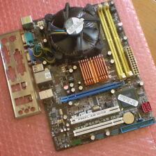 SCHEDA MADRE SOCKET 775 ASUS P5KPL-AM IN-GB + CPU DUAL CORE E2140 + MASCHERINA