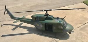 Amazing Huge Scale Twin Huey RC Helicopter 600 Size R/C Uh-1y