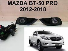 Fog Lamp Spot light MAZDA BT-50 PRO BT50 Clear LEN Group SET 2012-18 Pickup L&R