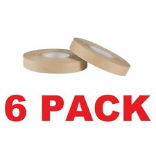 "6 Rolls of 1/2"" ATG Gun Adhesive Tape Runner Refills - 36 yards Each Made in USA"