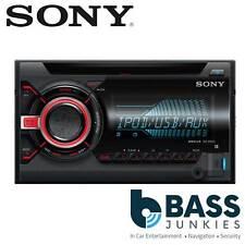 Sony WX-800Ui 55x4 Double Din Car Stereo CD MP3 USB AUX &  Multi Colour Display