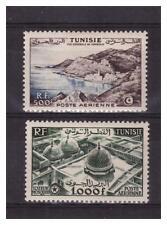 TUNISIE.   PA  N° 18/19 . 2  VALEURS   NEUVES  * .SUPERBE  .