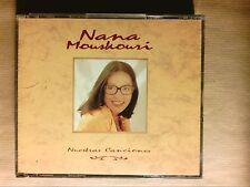 BOITIER 2 CD RARE / NANA MOUSKOURI / CANCIONES / TRES BON ETAT