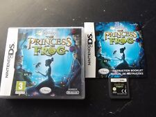 DISNEY'S disney THE PRINCESS AND THE FROG NINTENDO DS V.G.C. FAST POST COMPLETE