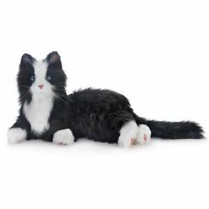 Joy For All Interactive Companion Pet Black and White Tuxedo Cat
