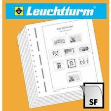 LEUCHTTURM SF-Vordruckblätter Tschechoslowakei 1970-1974