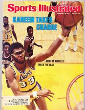 SPORTS ILLUSTRATED FEBRUARY 14 1977 KAREEM ABDUL-JABBAR LA LAKERS