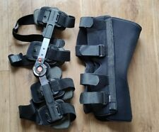 BREG T Scope Adjustable Adult Leg Brace  and Knee brace immobiliser  post op