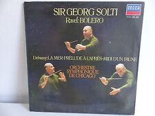 Sir GEORG SOLTI : RAVEL  Bolero Orch symphon de Chicago DECCA 591096