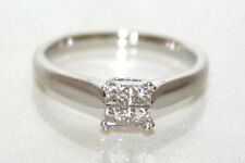 Beaverbrooks White Gold 18 Carat Fine Diamond Rings