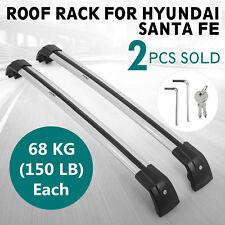 Roof Rack For Hyundai Santa Fe Cross Bar 2013-2017 Luggage Lock Smooth