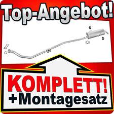 Auspuff PEUGEOT 205 1.8 1.9 Diesel 1985-1999 Auspuffanlage 418