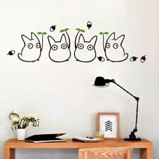 New Cartoon Animation Vinyl Totoro Wall Decals For Children's Room/Bathroom Home