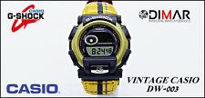 VINTAGE CASIO G-SHOCK DW-003TB-9VQT. TOUGH LABEL QW.1698.WR.200m. AÑO.1998