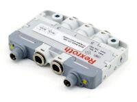 Rexroth R422100586 Bosch Pneumatic Direccional Válvula LS04 3/2CC 024DC AF D M8