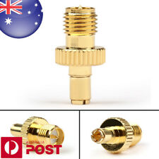 Gold Adapter TS9 Male Plug to RP SMA Female Jack RF Connector Straight Z232B