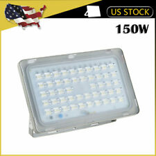 1 x 150W VIUGREUM LED Flood Light Outdoor Wall Spotlight Garden Cool White Lamp