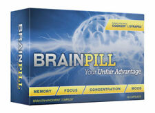 BRAIN PILL Focus Supplement BOOST Memory Cognizin Synapse factor BrainPill™