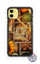 Thanksgiving Fall Thankful Phone Case Cover For iPhone 11 Samsung Note 10 etc