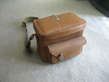 Vintage Heavy Duty Leather Focal, Photo, Video Photography, Travel Camera Bag