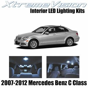 XtremeVision Interior LED for Mercedes C Class 2007-2012 (18 PCS) Cool White