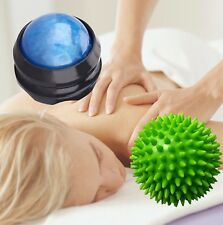 Spiky + Roller Massage Ball Plantar Fasciitis Deep Tissue Foot Tight Muscle Knot