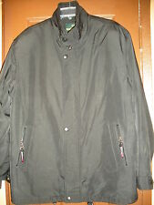 PAOLO & FERRARI Men's Lightweight Jacket Size : L Black ( Made in ITALY )