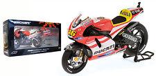 Minichamps Ducati Desmo GP11 MOTOGP 2011 RACE BIKE-VALENTINO ROSSI SCALA 1/12