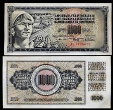 YUGOSLAVIA 1000 Dinara 1978  UNC P 92 c (cat.3.00$ )