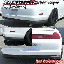 OE Style Rear Bumper Lip (Urethane) Fits 98-00 Honda Accord 2dr