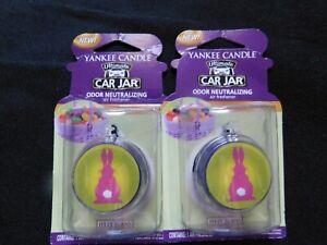 Yankee Candle Car Jar Ultimate Air Freshener Jelly Bean rare