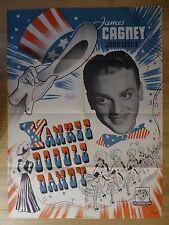 YANKEE DOODLE DANDY (1942) - original Danish film/movie poster,James Cagney,rare