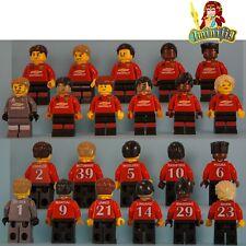 Custom LEGO minifigure Manchester United 11 Players UV Print Maguire Wan-Bissaka