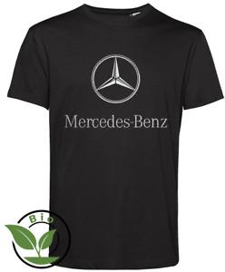 MERCEDES SILBER🔥AMG BENZ FAN🔥Geburtstag Herren T-Shirt Männer BIO bis 5XL