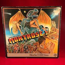 MONTROSE Warner Brothers Presents Montrose 1975 UK vinyl LP EXCELLENT CONDITION