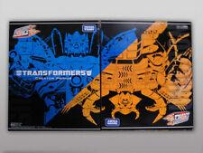 TRANSFORMERS 2010 Universal Dominator UNICRON & Creator PRIMUS Takara MIB G1