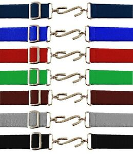 New Kids Adjustable Snake Belt Boys Girls Ages 1-10 Elasticated All Colours