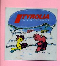 Aufkleber -- Sticker -- Tyrolia - Ski -- For a better Winter -