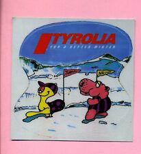 Aufkleber -- Sticker -- Tyrolia - Ski -- For a better Winter -