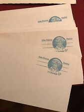 5 JOHN HANSON PATRIOT 6 CENT POSTCARDS UNUSED